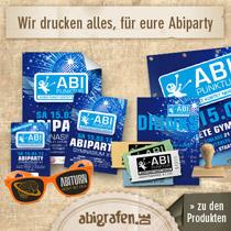 abigrafen.de - Abiparty Produkte