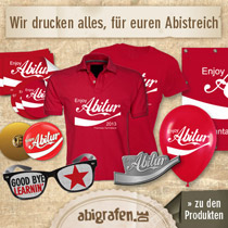 abigrafen.de - Abistreich Produkte
